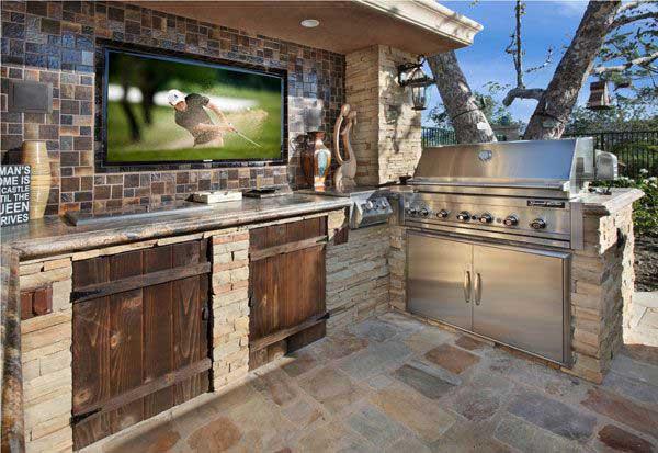 Wedo thiết kế nội thất nhà bếp đẹp với đá tự nhiên 12