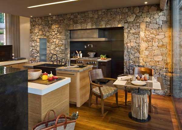 Wedo thiết kế nội thất nhà bếp đẹp với đá tự nhiên 18