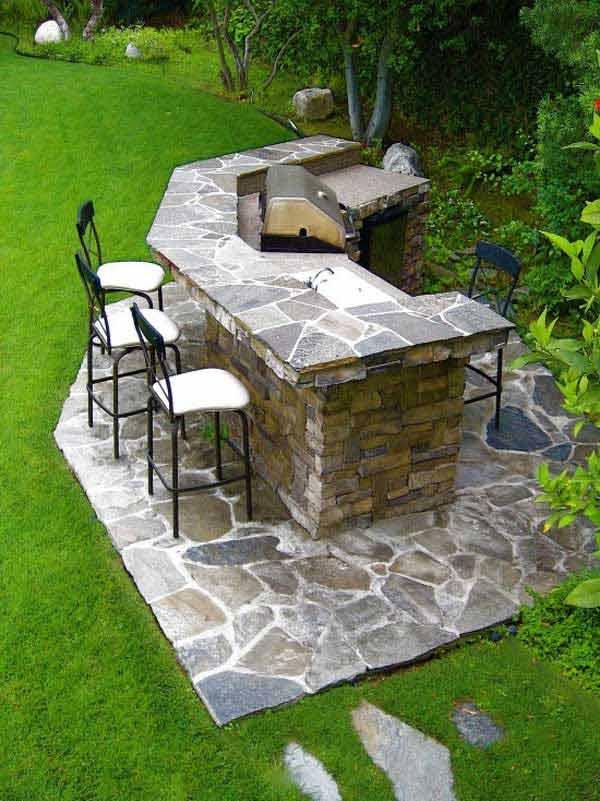 Wedo thiết kế nội thất nhà bếp đẹp với đá tự nhiên 19
