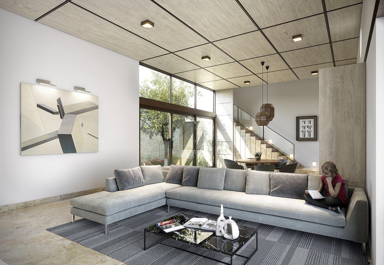 Wedo thiết kế nội thất phòng khách hiện đại,thoáng mát 2
