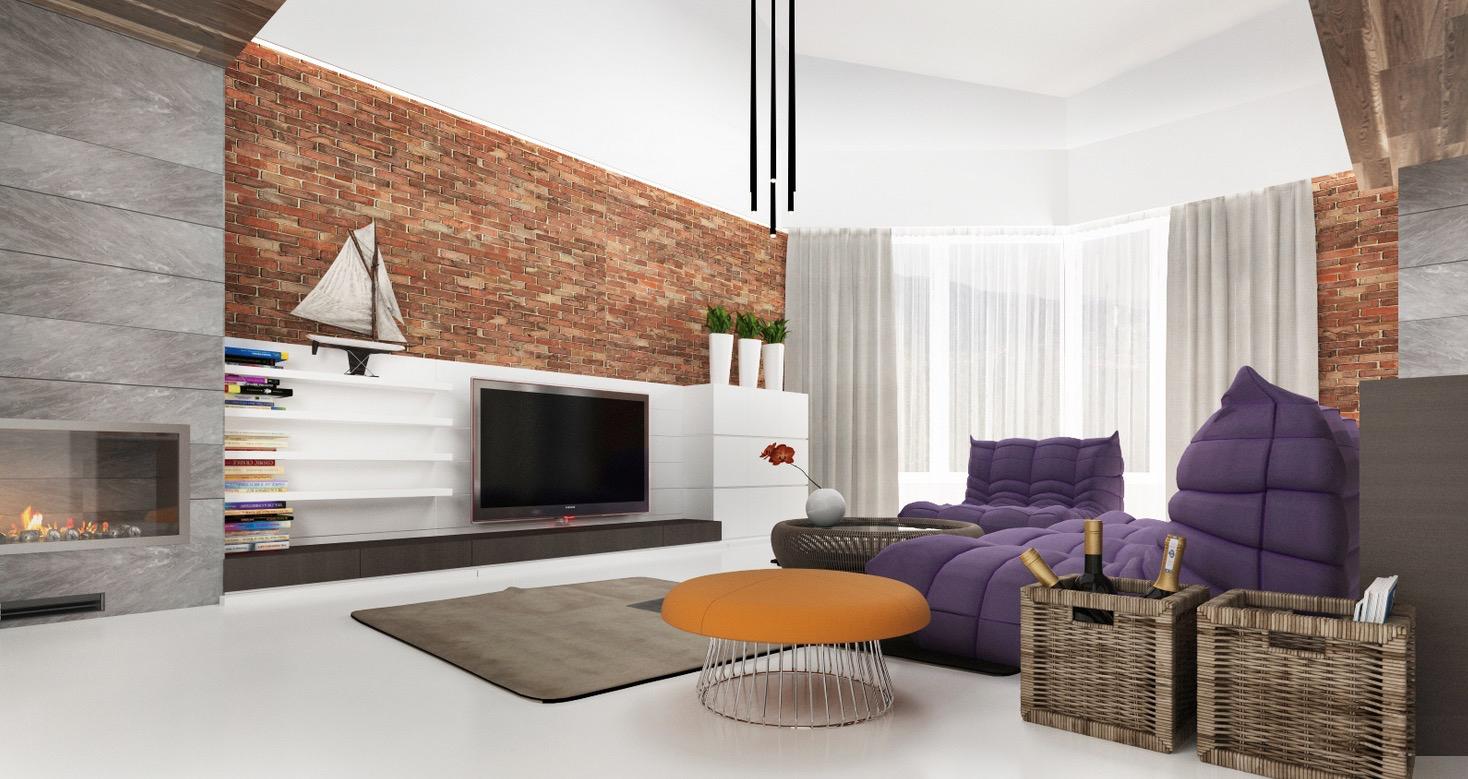 Wedo thiết kế nội thất phòng khách hiện đại,thoáng mát 23