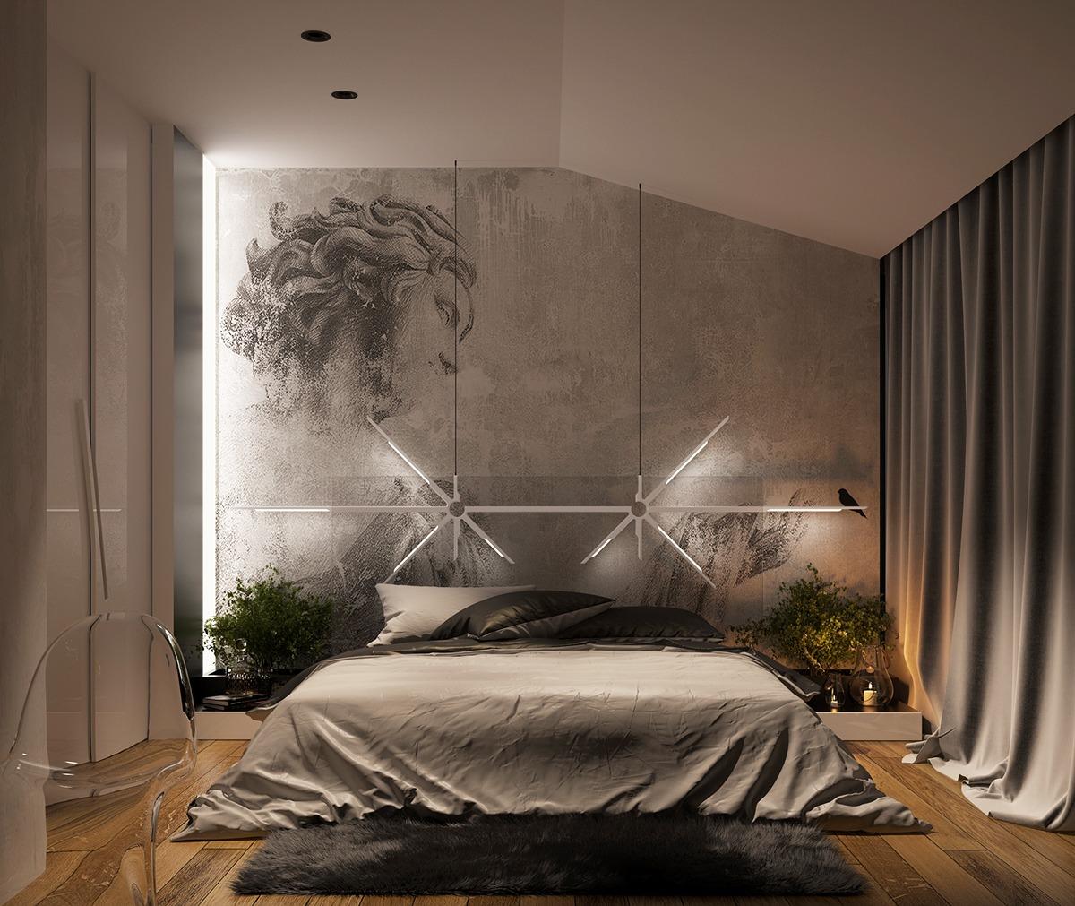 Wedo thiết kế nội thất phòng ngủ sáng tạo cho nhà đẹp với màu trung tính tinh tế