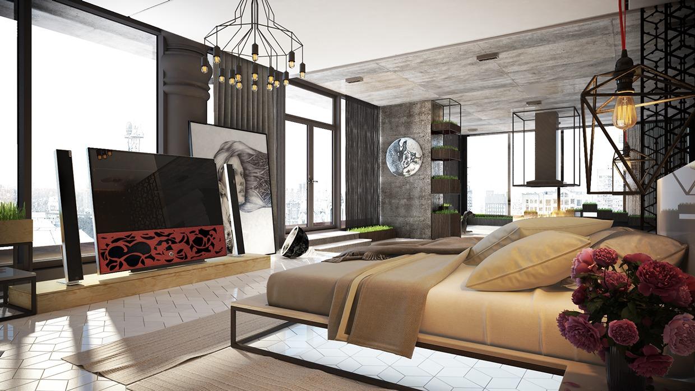 Wedo thiết kế nội thất phòng ngủ sáng tạo cho nhà đẹp
