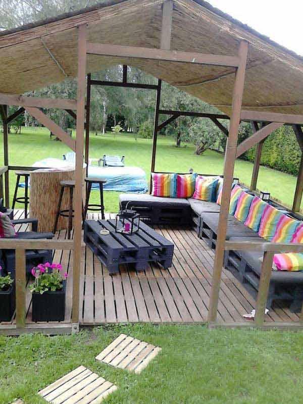 Wedo tư vấn thiết kế ban công, sân vườn mát mẻ ngày hè 11