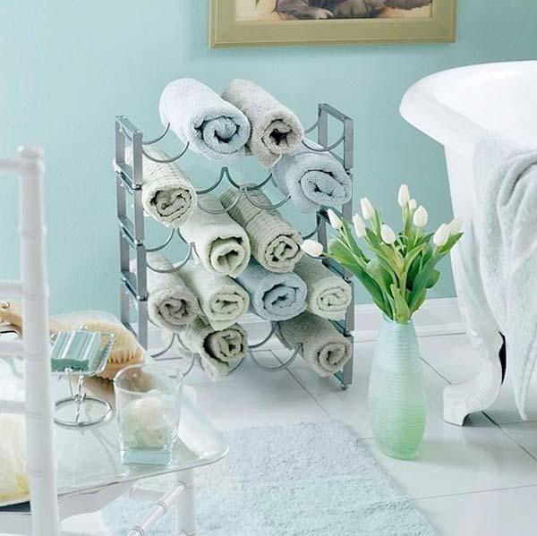 Tăng lưu trữ cho phòng tắm nhỏ với ý tưởng của wedo 4