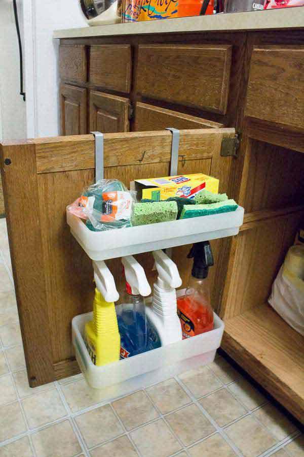 Tăng lưu trữ cho phòng tắm nhỏ với ý tưởng của wedo 6