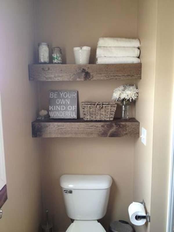 Tăng lưu trữ cho phòng tắm nhỏ với ý tưởng của wedo 20