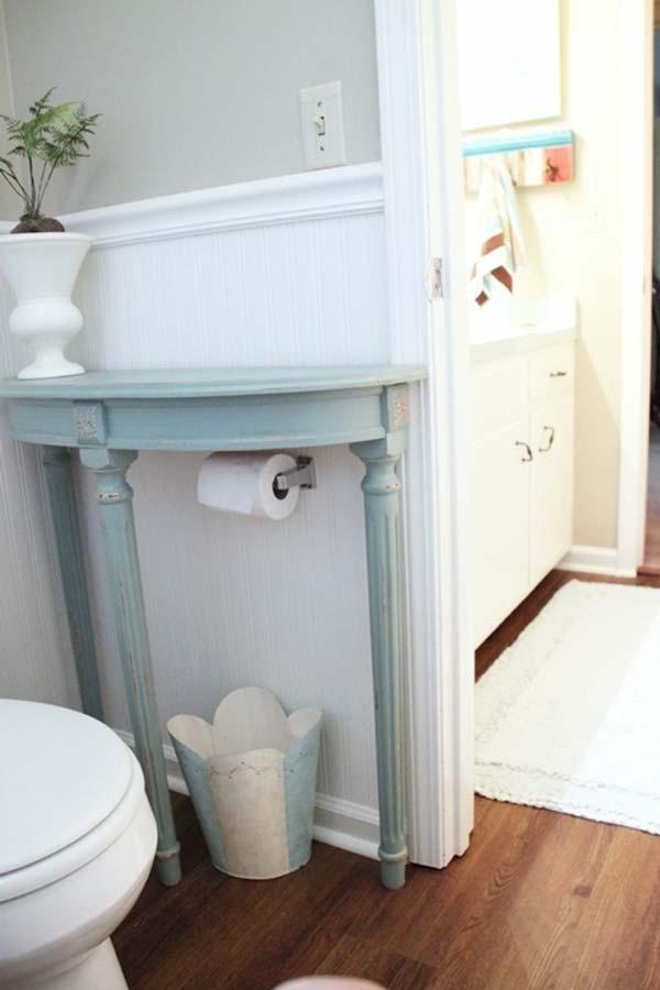 Tăng lưu trữ cho phòng tắm nhỏ với ý tưởng của wedo 8
