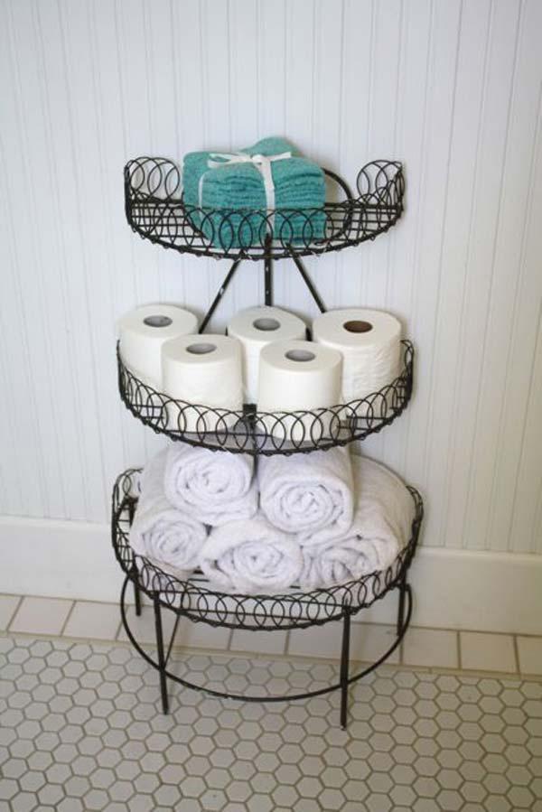 Tăng lưu trữ cho phòng tắm nhỏ với ý tưởng của wedo 22