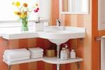 Tăng lưu trữ cho phòng tắm nhỏ với ý tưởng của wedo 24
