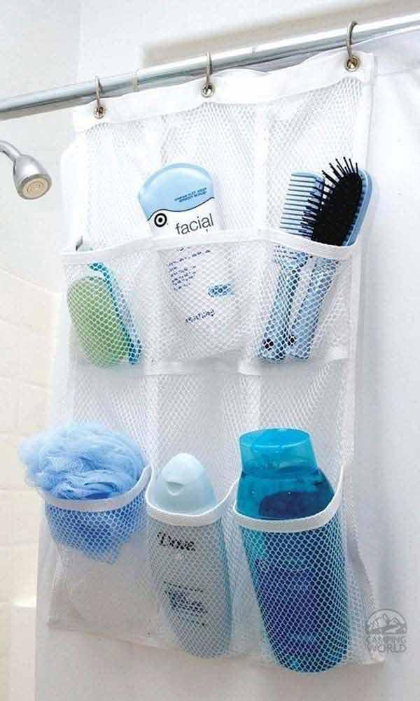 Tăng lưu trữ cho phòng tắm nhỏ với ý tưởng của wedo 11