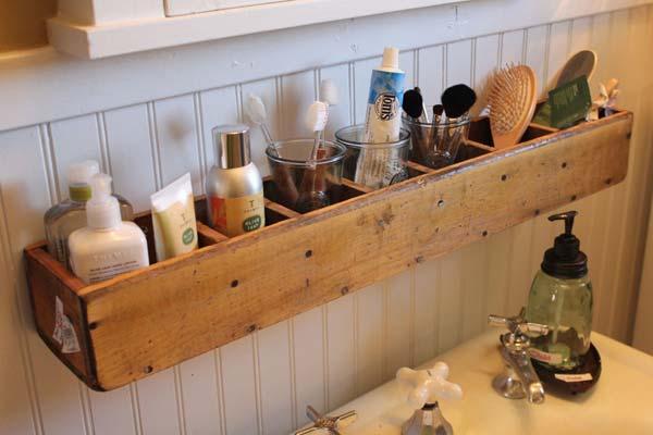 Tăng lưu trữ cho phòng tắm nhỏ với ý tưởng của wedo 25