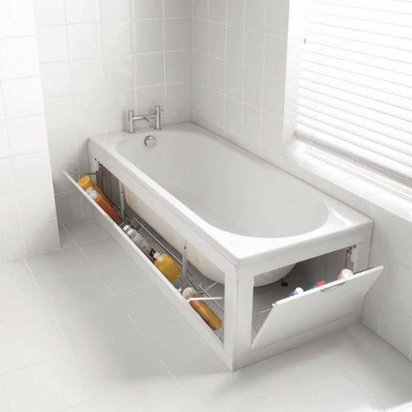 Tăng lưu trữ cho phòng tắm nhỏ với ý tưởng của wedo 15