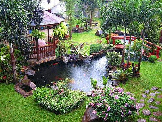 Wedo tư vấn thiết kế tiểu cảnh sân vườn nước đẹp và hợp phong thủy 17