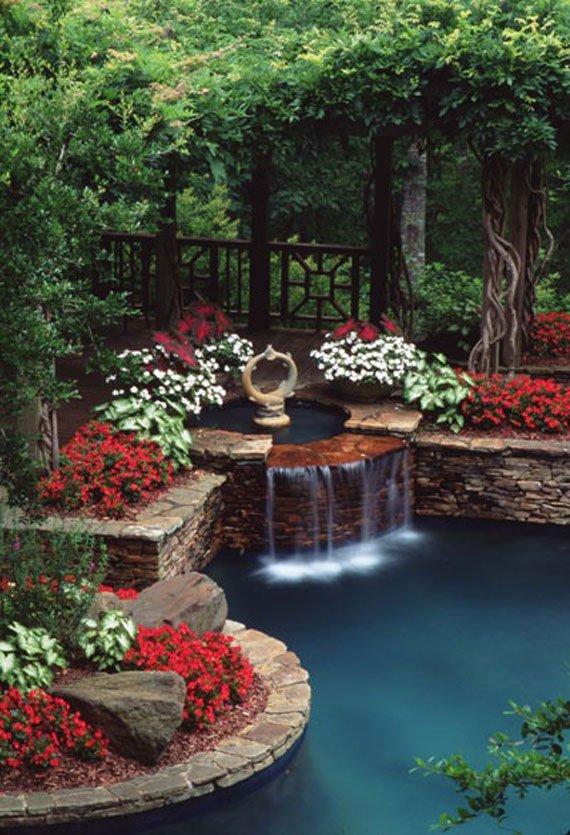 Wedo tư vấn thiết kế tiểu cảnh sân vườn nước đẹp và hợp phong thủy 6