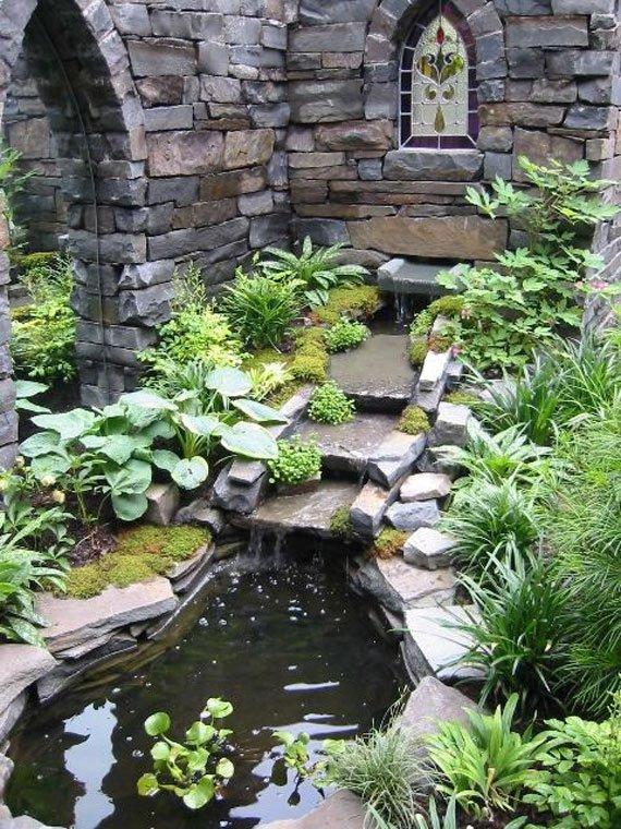Wedo tư vấn thiết kế tiểu cảnh sân vườn nước đẹp và hợp phong thủy 8