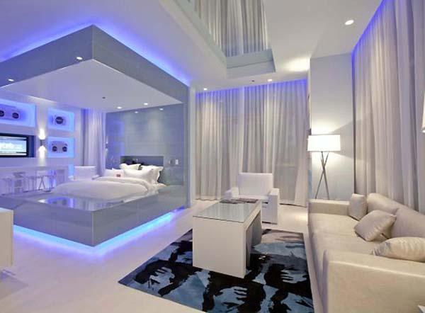 Wedo tư vấn bố trí ánh sáng đẹp và quyến rũ cho phòng ngủ 4