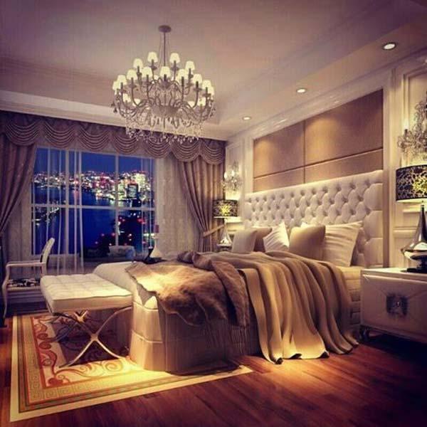 Wedo tư vấn bố trí ánh sáng đẹp và quyến rũ cho phòng ngủ 6