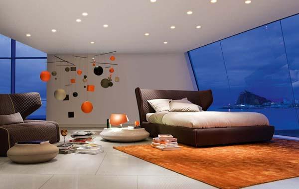 Wedo tư vấn bố trí ánh sáng đẹp và quyến rũ cho phòng ngủ