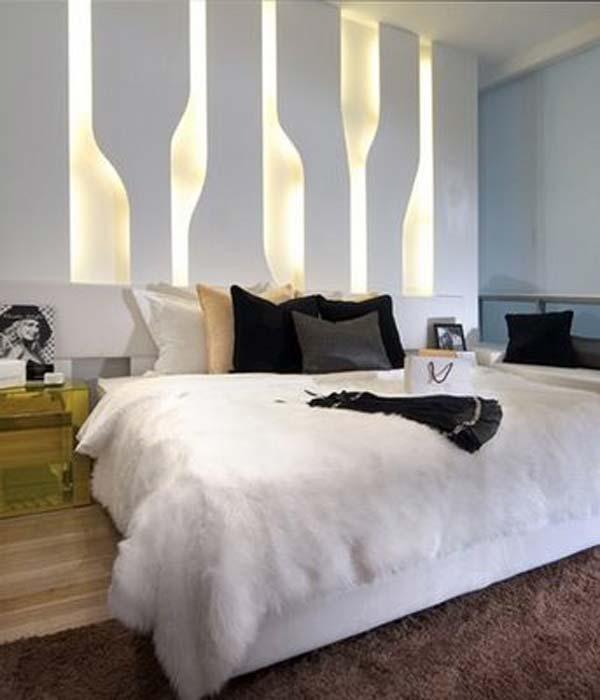 Wedo tư vấn bố trí ánh sáng đẹp và quyến rũ cho phòng ngủ 18
