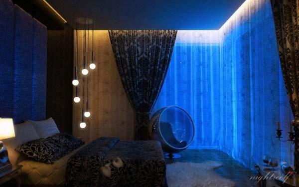 Wedo tư vấn bố trí ánh sáng đẹp và quyến rũ cho phòng ngủ 11