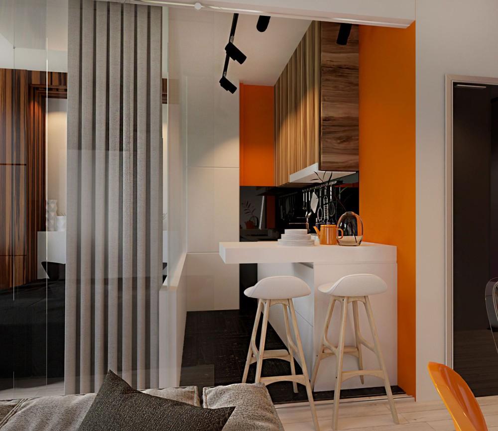 Wedo thiết kế nội thất phòng ăn căn hộ cao cấp đơn giản, sáng tạo cho gia đình trẻ