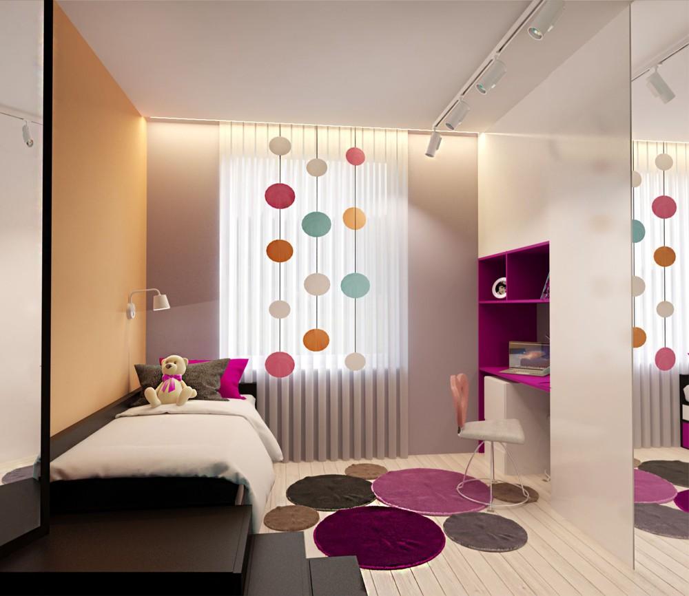 Wedo thiết kế nội thất phòng ngủ trẻ em căn hộ cao cấp đơn giản, sáng tạo cho gia đình trẻ
