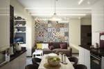 Wedo thiết kế nội thất phòng khách chung cư nhỏ đơn giản, sáng tạo