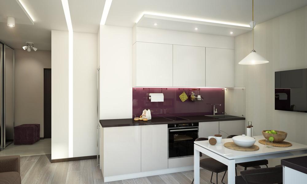 Wedo thiết kế nội thất nhà bếp và phòng ăn chung cư nhỏ đơn giản, sáng tạo