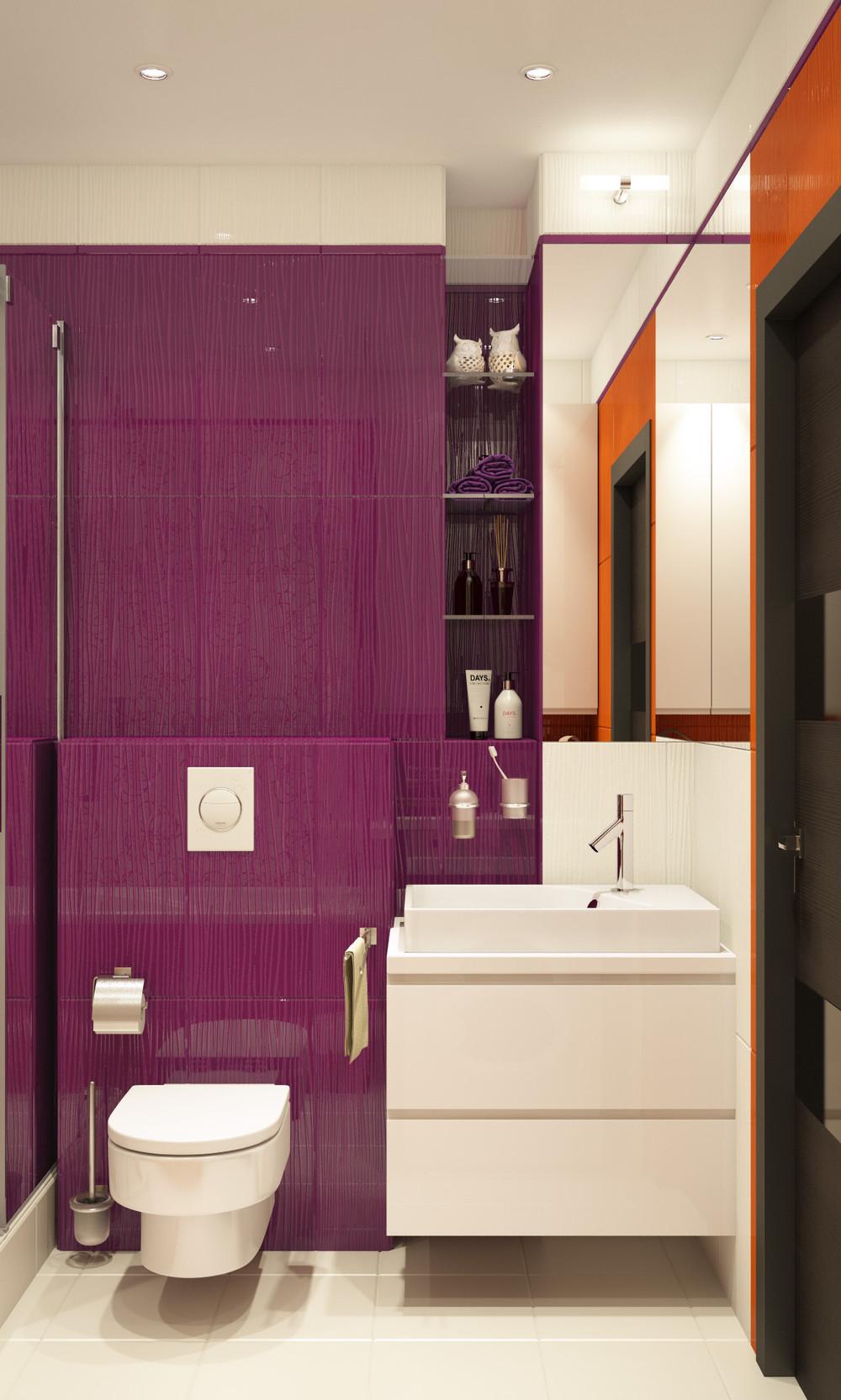 Wedo thiết kế nội phòng tắm đơn giản, sáng tạo cho chung cư nhỏ