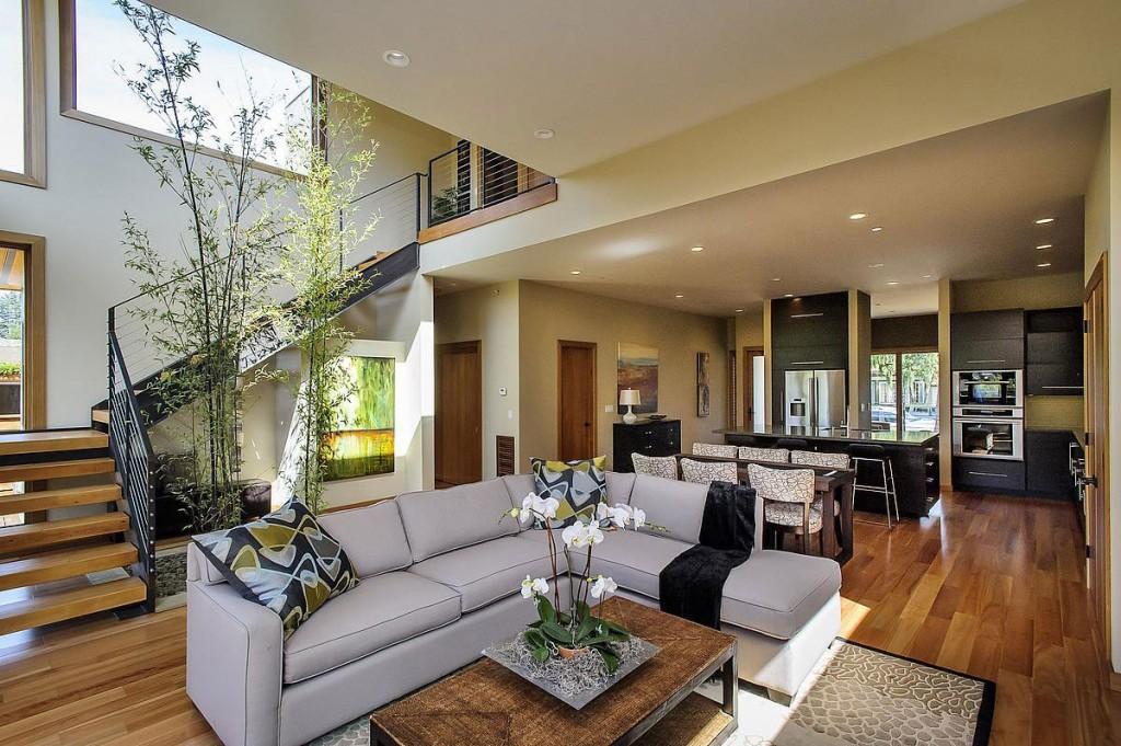 Wedo thiết kế nội thất phòng khách mộc mạc, tinh tế và độc đáo cho biệt thự