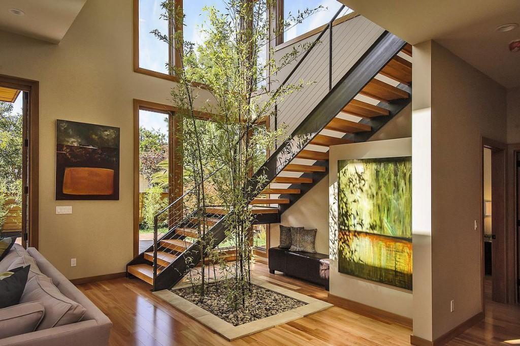 Wedo thiết kế cầu thang mộc mạc, tinh tế và độc đáo cho biệt thự