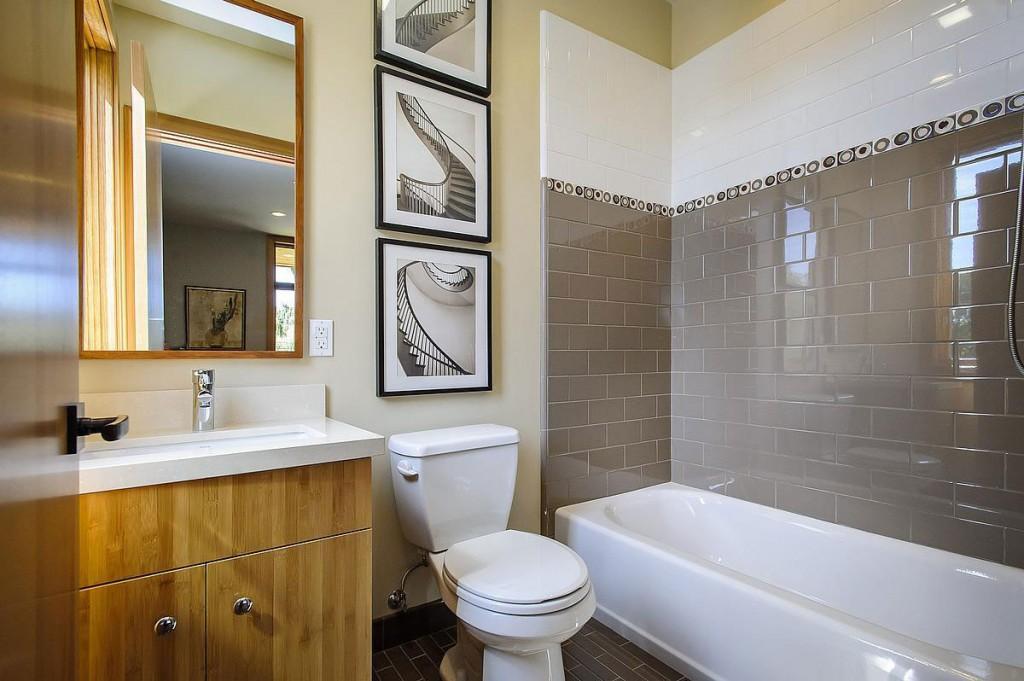 Wedo thiết kế nội thất phòng tắm mộc mạc, tinh tế và độc đáo cho biệt thự