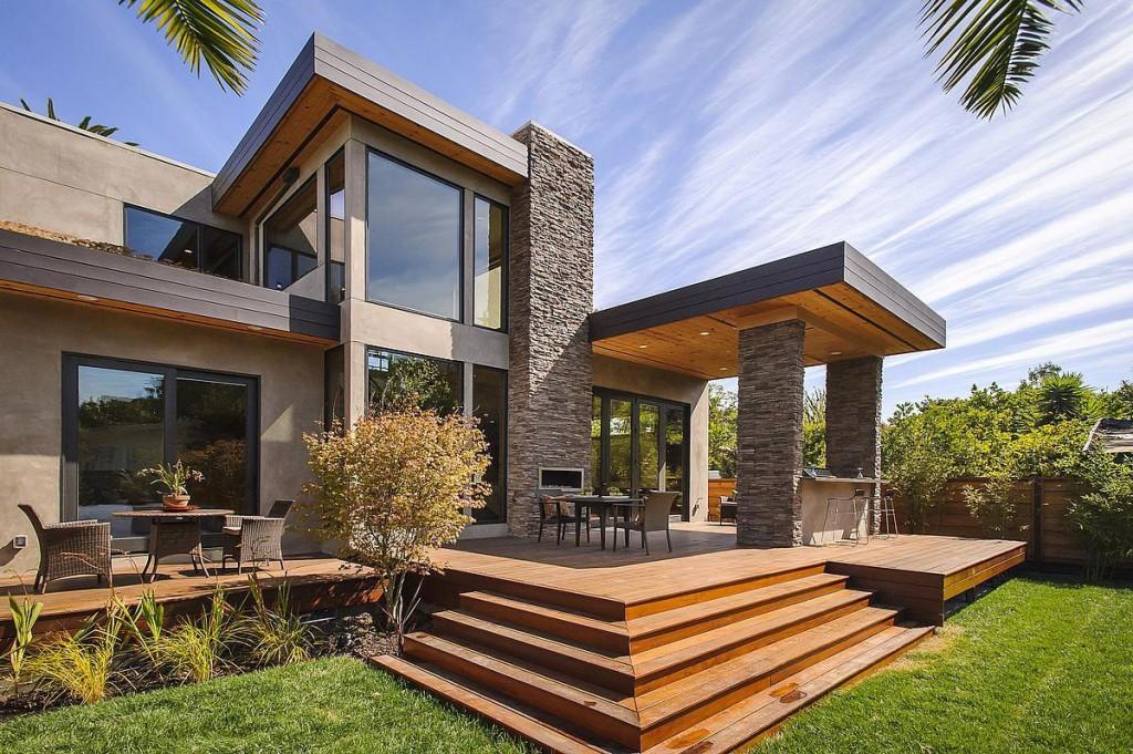 Wedo thiết kế ngoại thất mộc mạc, tinh tế và độc đáo cho biệt thự