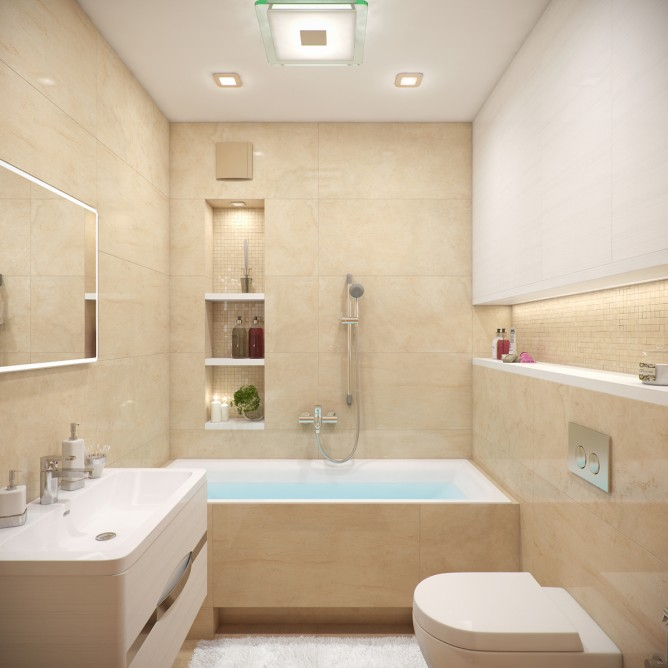 Wedo thiết kế nội thất phòng tắm đẹp dịu dàng theo chủ đề