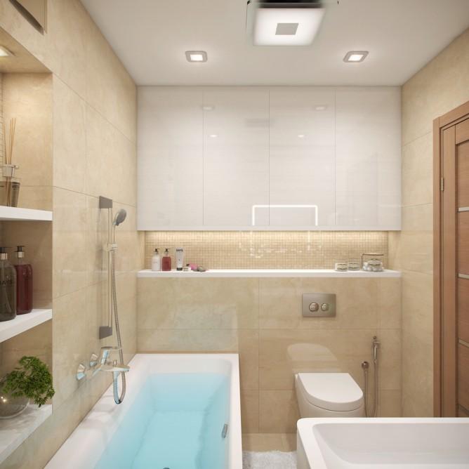Wedo thiết kế nội thất phòng tắm thanh lịch theo chủ đề