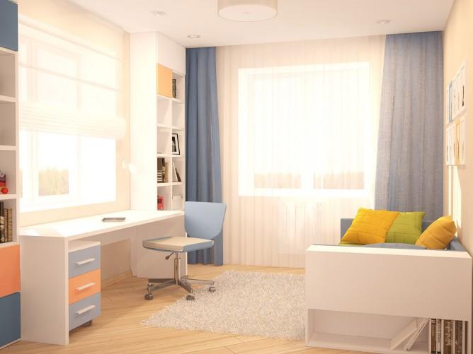 Wedo thiết kế nội thất phòng khách và làm việc đẹp theo chủ đề