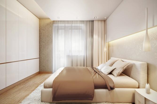 Wedo thiết kế nội thất phòng ngủ đẹp thanh lịch theo chủ đề với màu kem