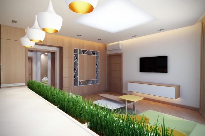 Wedo thiết kế nội thất nhà bếp đẹp theo chủ đề thiên nhiên