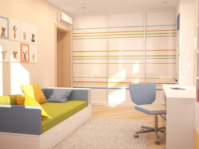 Wedo thiết kế nội thất phòng khách và làm việc theo chủ đề mùa thu