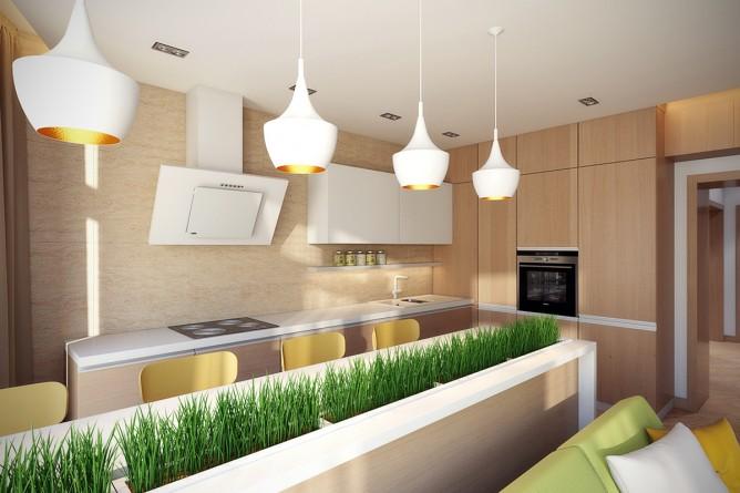 Wedo thiết kế nội thất nhà bếp đẹp theo chủ đề mùa thua