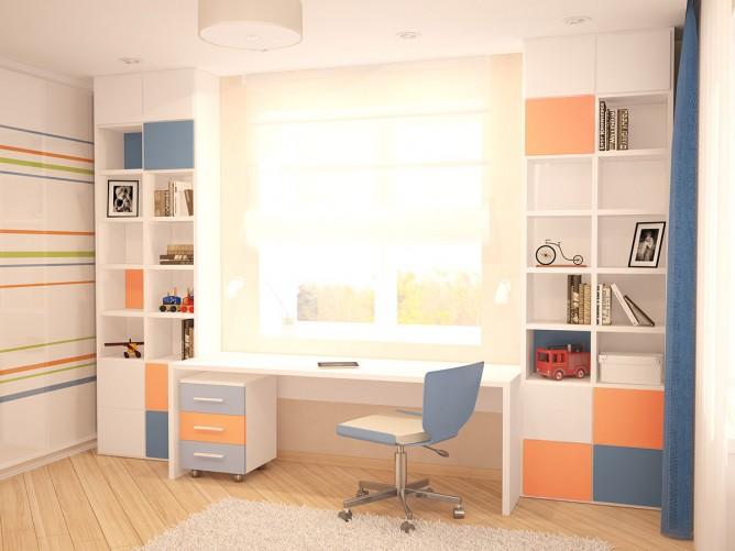 Wedo thiết kế nội thất phòng trẻ em theo chủ đề mùa thu