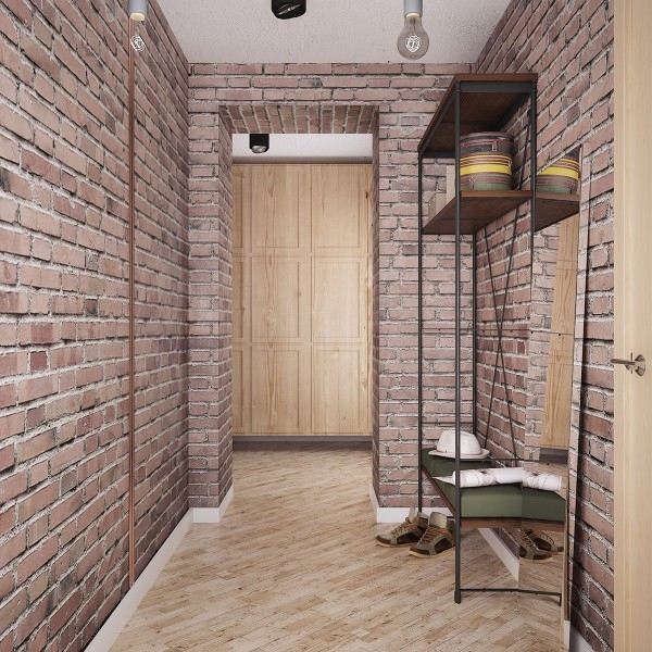 Wedo thiết kế nội thất nhà đẹp, đơn giản và đẳng cấp với gạch trần