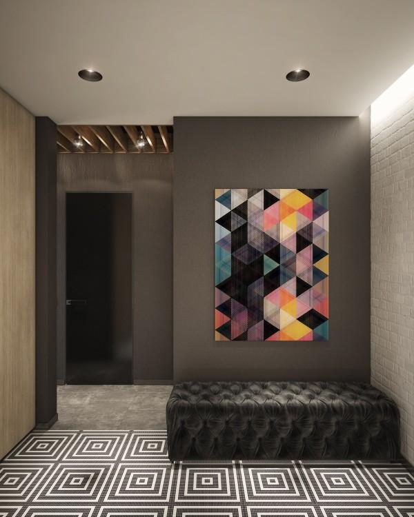 Wedo thiết kế nội thất nhà đẹp, trầm ấm, đơn giản và đẳng cấp với gạch trần