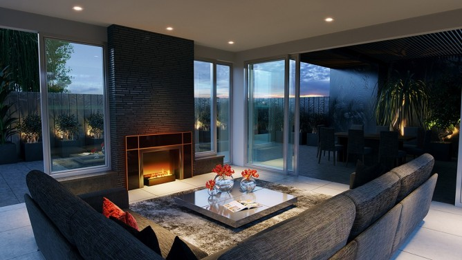 Wedo thiết kế nội thất phòng khách đơn giản, hiện đại và sang trọng