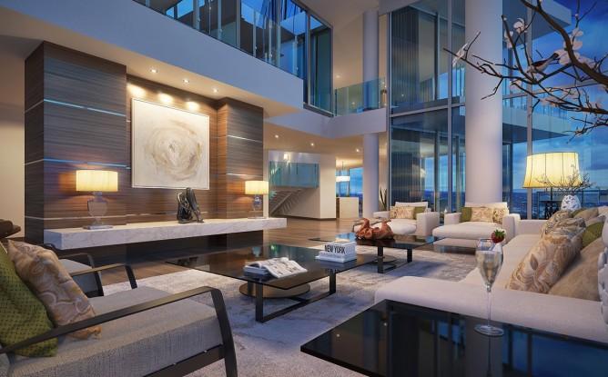 Wedo thiết kế nội thất phòng khách đơn giản, hiện đại và ấm áp
