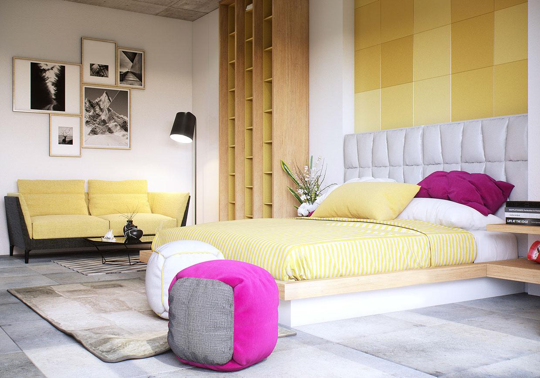 Cải tạo nội thất phòng ngủ tươi mới, hiện đại và sang trọng hơn