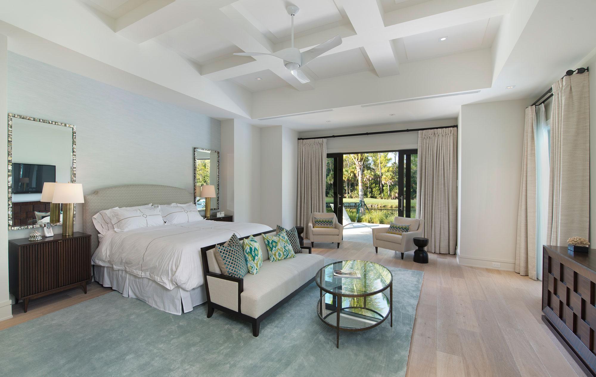 Wedo thiết kế nội thất phòng ngủ sang trọng và đẳng cấp cho biệt thự