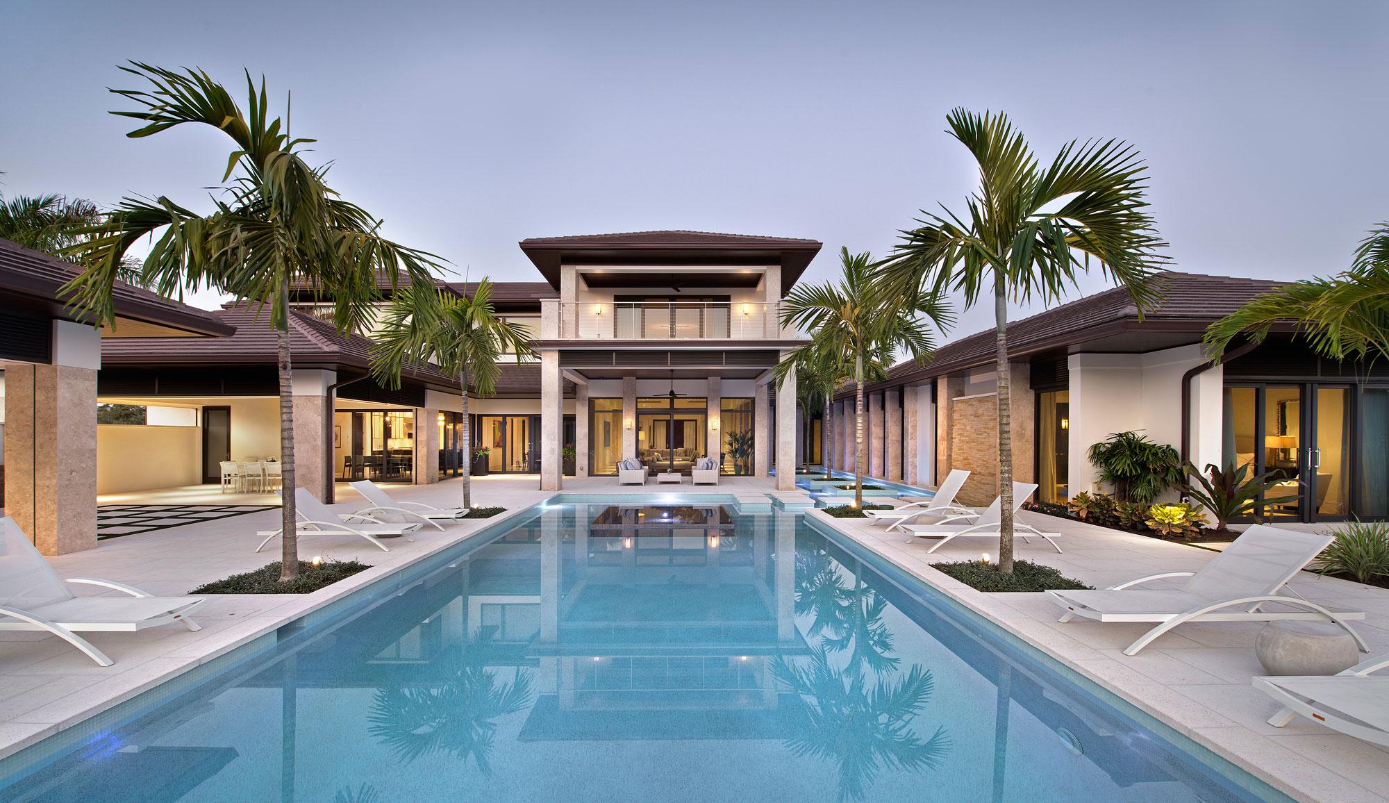 Wedo thiết kế nội thất và bể bơi sang trọng cho biệt thự