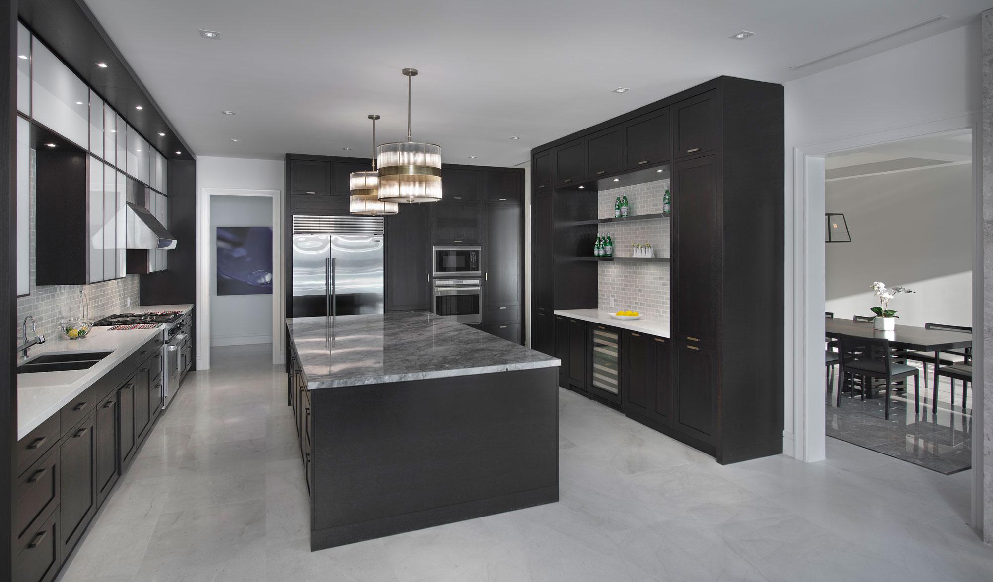 Wedo thiết kế nội thất nhà bếp sang trọng và đẳng cấp cho biệt thự